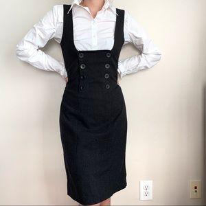 L.A.M.B. Wool gray dress 4